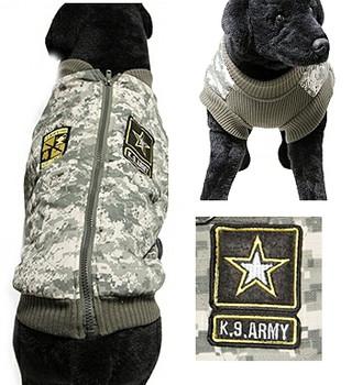 Big Dog US Army Camo Vest Jacket
