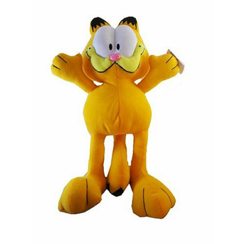 "Plush Garfield 10"" Dog Toy"