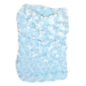 Blue Minky Snuggle Pups Dog Sleeping Bags