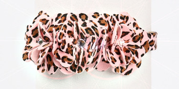 Pink Cheetah Tinkies Garden Dog Collars