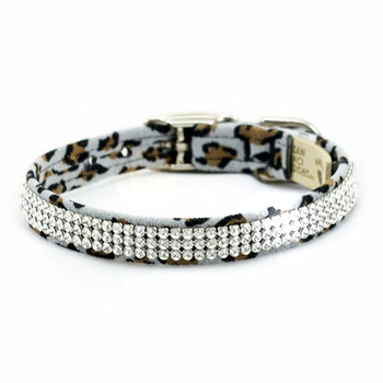 Cheetah Giltmore 3 Row Dog Collars