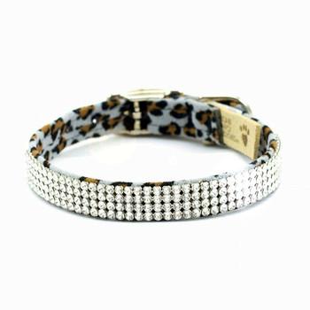 Cheetah Giltmore 4 Row Dog Collars