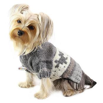 Playful Doggies Turtleneck Dog Sweater