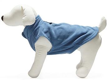 Dog Pullover Fleece Vest - Blue
