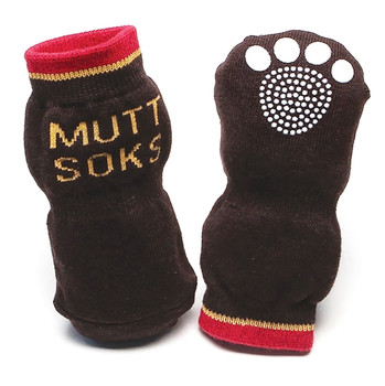 Muttsoks Traction Pet Dog Socks