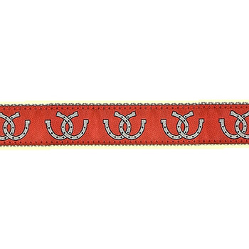 Horse Shoes Dog Collars - 3/4 & 1 1/4