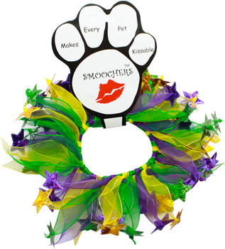 Mardi Gras Star Dog Smoocher