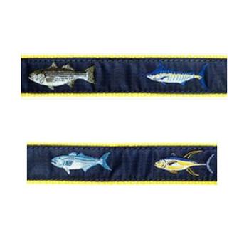 Dog Collar - 4 Fish - 1 1/4