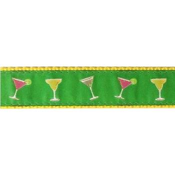 Dog Collar - Happy Hour - 3/4 & 1 1/4