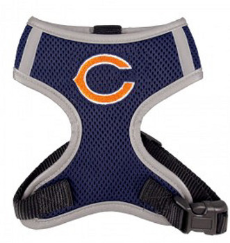 NFL Chicago Bears Dog Mesh Harness - Big Dog Sizes Too!