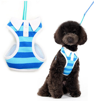 EasyGO Blue Polo Dog Harness