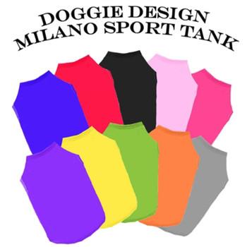 Milano Sport Dog Tanks - XSmall - Big Dog Sizes