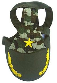 Commander Camo Dog Visor Cap