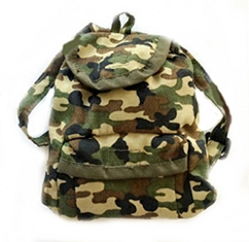 Camo Dog Backpack