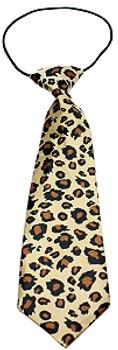 Big Dog Neck Ties - Leopard Print