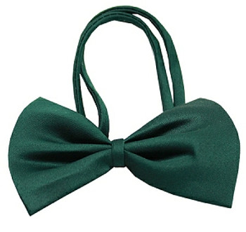 Emerald Green Dog Bow Tie - Small & Medium