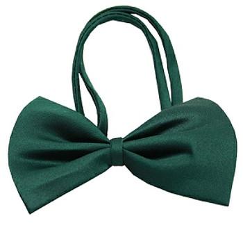 Emerald Green Dog Bow Tie - Small & Medium