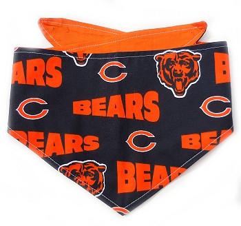 Chicago Bears NFL Dog Bandanas