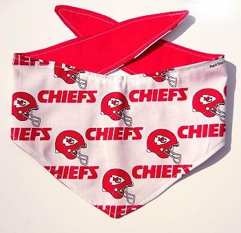 Kansas City Chiefs NFL Dog Bandanas