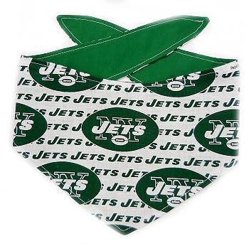 New York Jets NFL Dog Bandanas