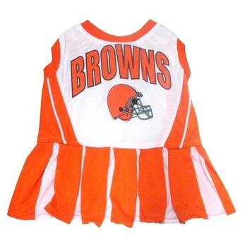 Cleveland Browns Cheerleader Dog Dress