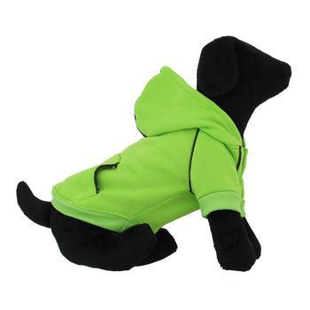 Sport Dog Hoodie - Green Flash - Tiny - Big Dog Sizes