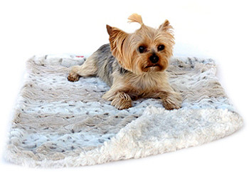 Frosted Sno Leopard Blanket / Mat - 4 Sizes Small - XLarge