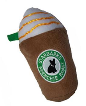 Starbarks Frenchie Roast Dog Toy