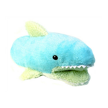 Sherman the Shark Teasers Hand Pup-Pet Plush Dog Toy