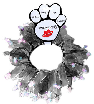Halloween - Glowing Ghosts Party Dog Collars