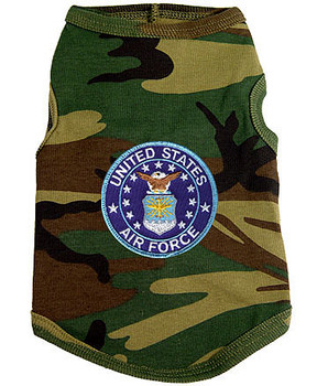 US Air Force Crest Dog Tank