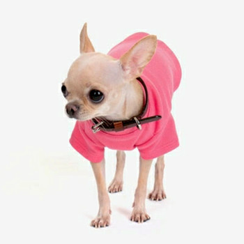 Hot Pink Comfortable Cotton T-Shirt for Small Dogs