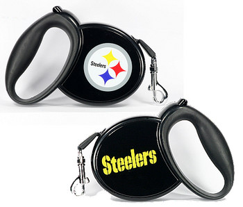 NFL Pittsburg Steelers Retractable Dog Leash