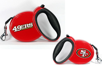 NFL San Francisco 49ers Retractable Dog Leash