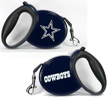 NFL Dallas Cowboys Retractable Dog Leash