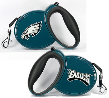 NFL Philadelphia Eagles Retractable Dog Leash
