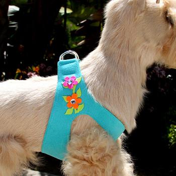 Secret Garden Bimini Blue Dog Harness by Susan Lanci