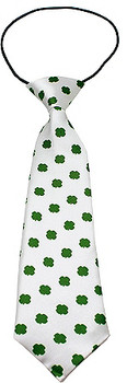 Big Dog Neck Ties - Green Shamrocks