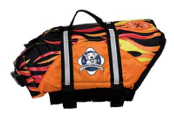 Flames Neoprene Pet Life Vest