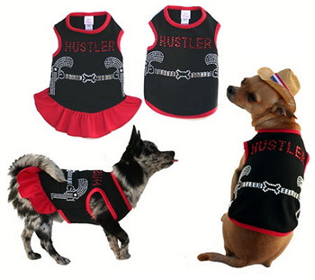 Hustler Cowboy & Cowgirl Dog Tank or Dress