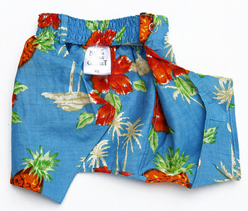 Dog Board Shorts - Lahaina Hawaiian