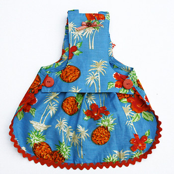 Dog Dress - Lahaina Hawaiian