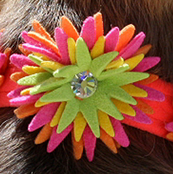 "Sea Urchin Collection 1/2"" Ultra Suede Dog Collars"
