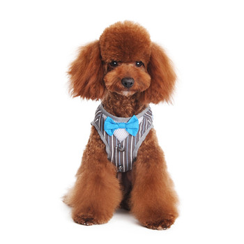 SnapGO Bowtie Gentleman Dog Harness