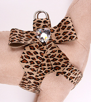Susan Lanci Cheetah Tail Bow Step-In Harnesses