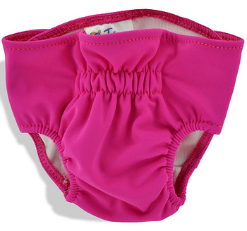 Fuchsia Dog Panties / Diaper Cover
