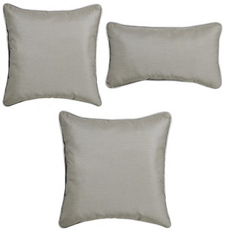 Outdoor Throw Pillows - Dune