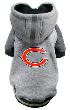 NFL Chicago Bears Licensed Dog Hoodie - Small - 3X