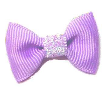 Dog Hair Bow Barrette - Precious Lavender