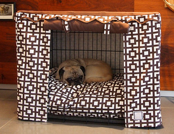 Crate Cover - Lattice & Optional Bed